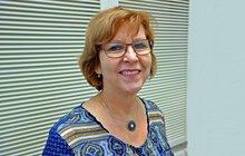 Porträtfoto Sylvia Jahn, ehrenamtlich aktiv für die ver.di im Einzelhandel