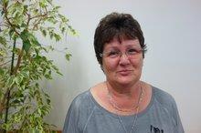 Porträtfoto Ute Mickow, ehrenamtlich aktiv für ver.di im Einzelhandel bei REWE