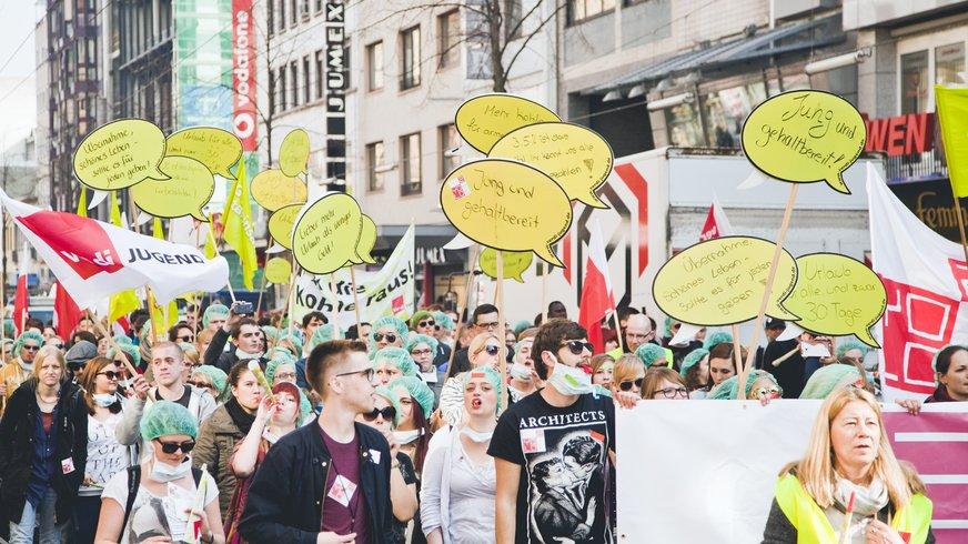 Azubi Streik Tag Mannheim YOLO 2