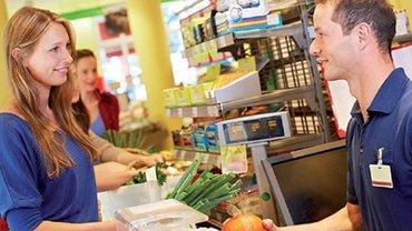 Azubi im Einzelhandel
