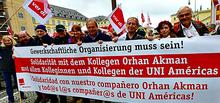 Solidaritätsdemo für Orhan Akman