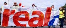 Bundesweite Streiks bei real,- (hier in Bayern)