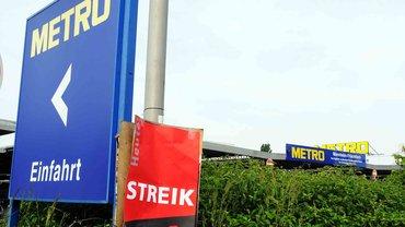 Streik bei Metro Mannheim
