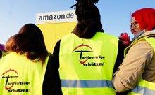 Amazon Streik in Graben 24.03.2015