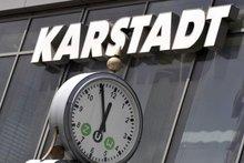 5 vor 12 bei Karstadt