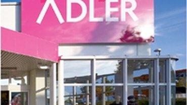 Filiale der Adler Modemärkte AG