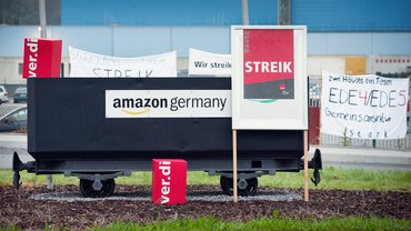 Amazon-Streiks 2014 (hier in Werne)
