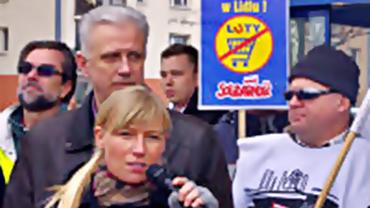 Solidaritätskampagne für die Lidl-Beschäftigten in Polen!