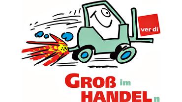 Comic: ver.di – Groß (im) Handel(n)