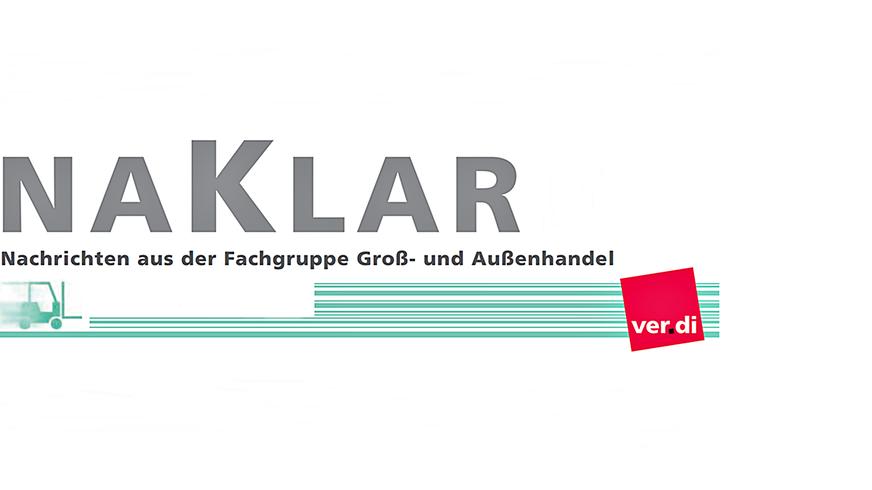 NaKlar Magazin für den Groß- und Außenhandel (Cover)