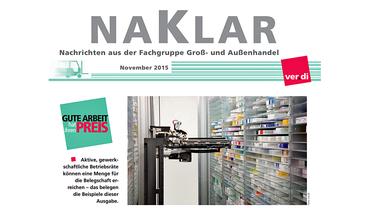 NaKlar Cover November 2015