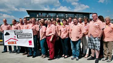 GBR-Sitzung bei OBI - Gruppenfoto