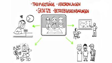 Betriebsrat Comic