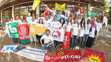 Jugendcamp UNI Global Union - Gruppenbild
