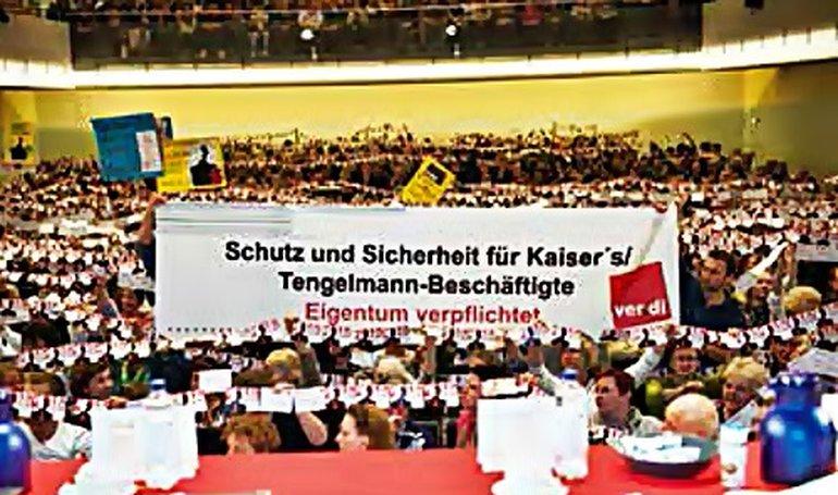 Betriebsversammlung in Berlin