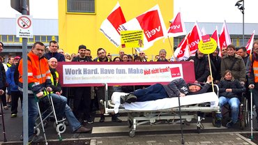 Streik am Weltgesundheitstag