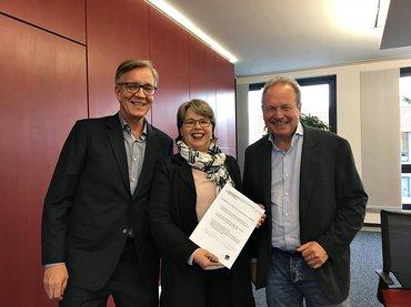 Kontakt AVE im Handel: Bartsch, Bsirske, Nutzenberger (05/17)