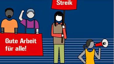 Arbeitsrechte – Arbeitskämpfe (Cover / Portlet)