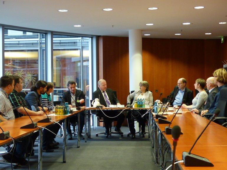 ver.di-Vertreter_innen bei der CDU/CSU-Fraktion