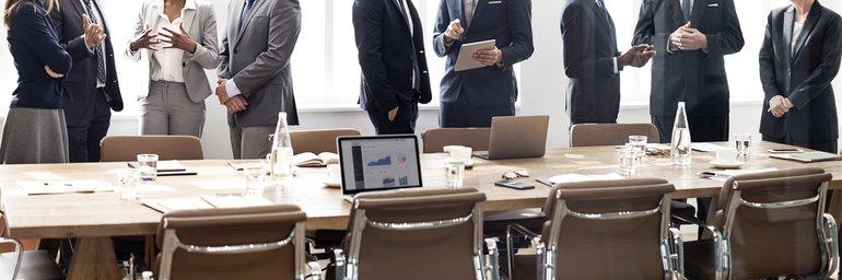 Gespräch Team Verhandlung Diskussion