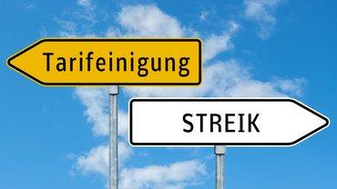 Tarifeinigung Tarifverhandlung Streik