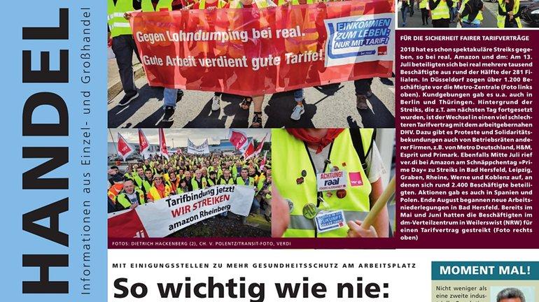 Cover Handel Magazin 02/2018