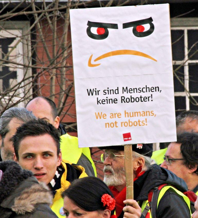 Erneute Streiks bei Amazon (hier in Bad Hersfeld)