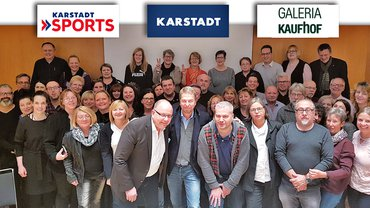 Mitglieder der drei Tarifkommissonen Karstadt Warenhaus, Karstadt Sports und Galeria Kaufhof