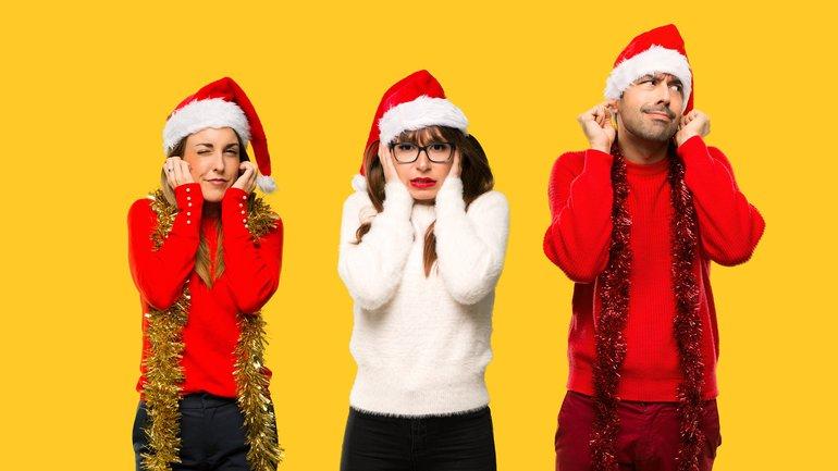 Weihnachten Lärm Lautstärke