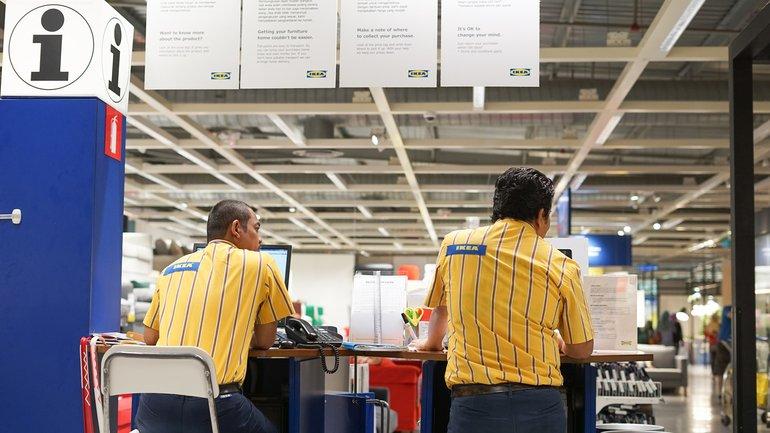 IKEA Mitarbeiter Information Einzelhandel
