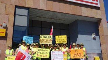 Streik im Kaufland Bad Kissingen (27.06.2019)