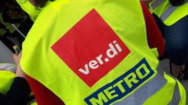 Metro Streikweste