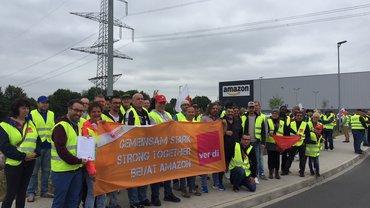 Streiks zum Prime-Day bei Amazon in Werne (16.07.2019)
