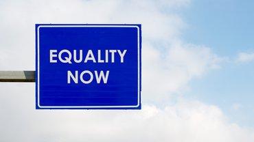 Equality now Gleichstellung Gleichheit