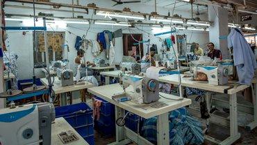 Indien Textilfabrik Bekleidung Mode Textil
