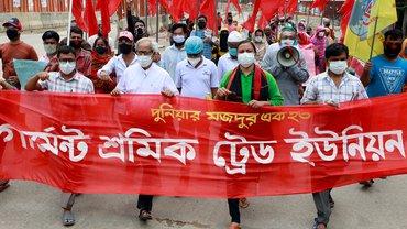 Streik Textil Bekleidung Bangladesch Mai 2020
