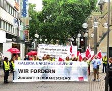 Protestaktion Köln Galeria Karstadt Kaufhof  (16.06.2020)