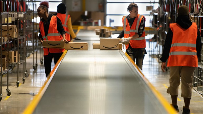 Amazon Lager Logistik Picker