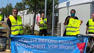 """Aktionswoche """"Gesundheit vor Profit"""" Rheinberg"""