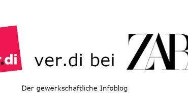 ver.di-Blog bei Zara