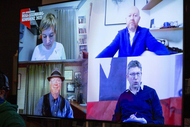 Virtuelle Podiumsdiskussion über Amazon bei der Rosa-Luxemburg-Konferenz am 9. Januar 2021