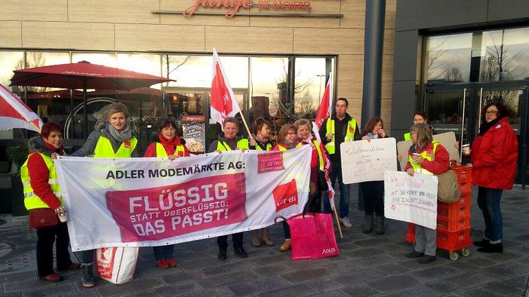 Streik bei Adler