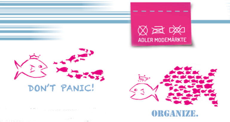 Don't panic, organize!