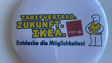 Buttonaktion bei Ikea