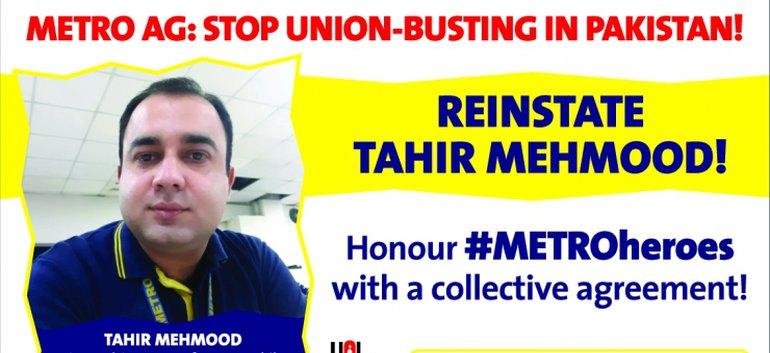 Gegen Union Busting bei der Metro AG