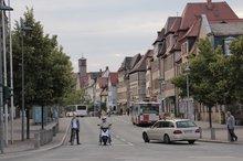 Straßenszene Fürth