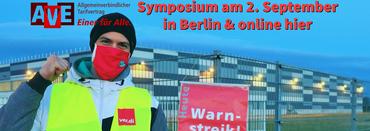 AVE-Symposium am 2. September 2021 in Berlin und digital
