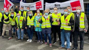 Streik bei Metro in Dortmund am 26. und 27. August 2021