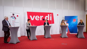 Podiumsdiskussion auf dem AVE-Symposium am 2. September 2021